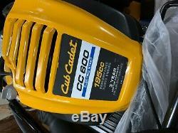 Cub Cadet Cc600 (28) 195cc Démarreur Électrique Wide Area Autoporteur Automotrice Faucheuse