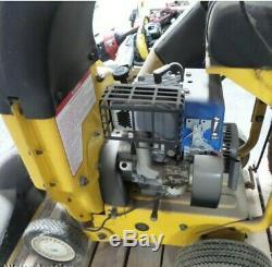 Cub Cadet Csv260 Autopropulsé Chipper Shredder Vide