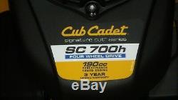Cub Cadet Sc700h Honda Automotrice All-wheel Drive Tondeuse Nib