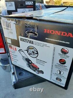 D'habitude Honda 21 200cc Automoteur Select Drive Tondeuse À Gazon Hrx217vka