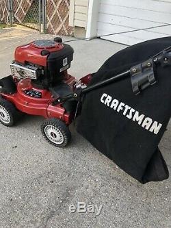 Déchiqueteuse-déchiqueteuse 190 CC Craftsman 4 En 1 Sous Vide