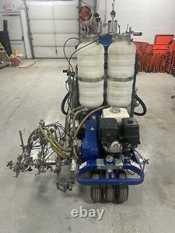 Graco Linelazer V 250dc HP Série Réfléchissante Automoteur Gaz Hydraulique
