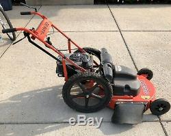 Gravement Pro-24 Walk Behind 24po Gas Lawnmower Autopropulsés 190cc Lire Desc