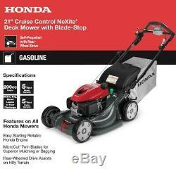 Honda 21 Faucheuse Automotrice Lawn (hrx217vya)