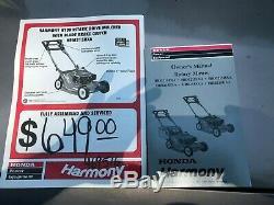 Honda Harmony Faucheuse Hrm215 Hxa Courses Et Cuts Bonne Volonté Pas Auto Propel