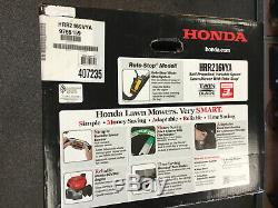 Honda Hrr216vya Honda 21 Po. 3 En 1 / Nib / Gaz Walk Behind Autopropulsés Faucheuse