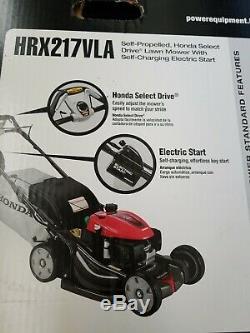 Honda Hrx2176vla 21 200cc Automotrice Démarreur Électrique Tondeuse