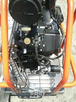 Husqvarna Soff-cut 4000 Scie Automoteur Avec Le Gaz Kohler Ch20 Moteur Seulement 17 Hrs