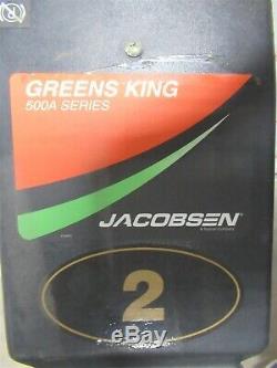 Jacobsen 522a Verts Roi Noyau Hog 500a Golf Autopropulsés Tondeuse À Rouleau