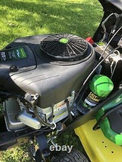 John Deere E130 2019 Tracteurs De Tondeuse À Gazon Briggs 22hp Twin Engine Seulement 16 Heures