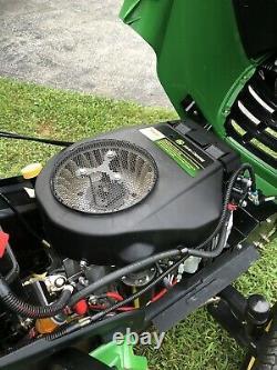John Deere X304 Aws Tondeuse Tracteur 42 Deck 17hp Kawasaki Twin Engine