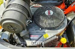 Kubota Z781k 60in Zero Turn Tondeuse 30hp Kawasaki Efi Full Sus Seating Low Hrs