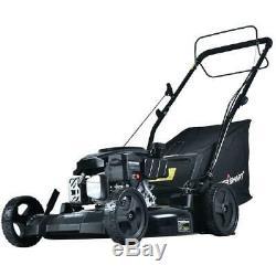 Lawn Mower Marche Derrière Autopropulsés Équipement Extérieur 21 170 CC Gaz 3-en-1