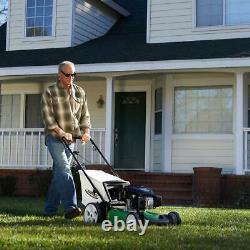 Lawn-boy Walk Behind Push Mower High-wheel Gas Kohler Engine Pull Cord Bag