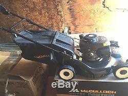 Nouveau! Autopropulsé Easy Start Faucheuse 22- Gcv Powered Mcculloch / Honda