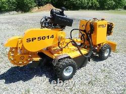 Nouveau Carlton Sp5014 Stump Grinder Autopropulsé, 4x4, Remote, Blade, 35 HP Gas