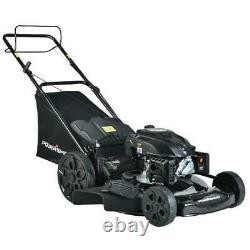 Powersmart 22 In. 3-en-1 200cc Gas Walk Behind Self Propelled Lawn Tondeuse Psm2022