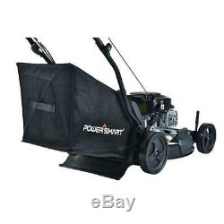 Powersmart Automotrice Tondeuse À 21. 170 CC Gaz Bagger (3-in-1)