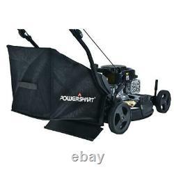 Powersmart Autopropulsés Tondeuse 21 Po. 170 CC Gaz Extérieur Bagger 3-in-1 Cut