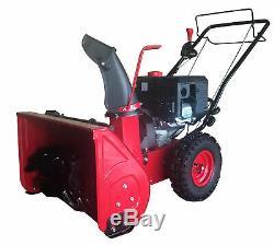 Powersmart Gas Powered Souffleuse À Neige Autopropulsés 22 Marque New Red Machine