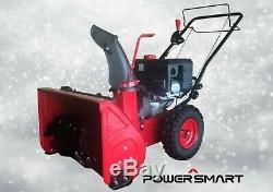 Powersmart Gaz Souffleuse À Neige Autopropulsés 22 Fabrication À 2 Étages Réformé