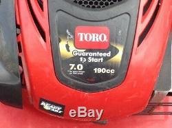 Seulement Toro 22 Pickup Personal Pace Recycleur Autopropulsés Faucheuse 7.0 HP