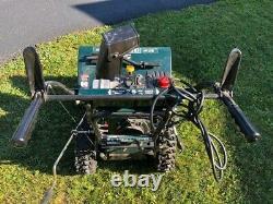 Snowblower Craftsman 9 Horse Power 29 Pouces Prise Électrique Start Autopropulsé
