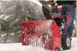 Souffleuse À Neige À Gaz À Deux Étapes De 208 CC Avec Démarrage Électrique Automoteur
