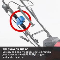 Souffleuse À Neige Automotrice À Un Étage 21 En. 212 CC Avec Démarrage Électrique