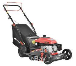 Tondeuse 21 170cc 3-in-1 Gas Powered Automotrice Hauteur Ajustable Compact