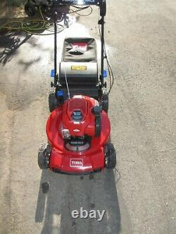 Tondeuse À Gazon Autopropulsée Toro 22 Po. Smartstow Personal Pace High-wheel Drive