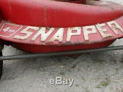 Tondeuse Autoportante Snapper Vintage