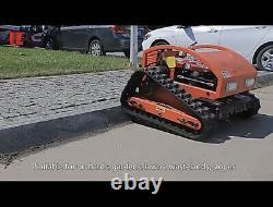 Tondeuse De Pelouse Intelligente Cutter Automatique À Gaz Robot Alimenté Entièrement À Distance