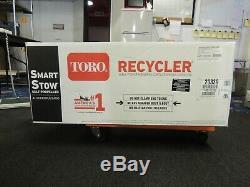 Toro 20339 Recycleur Smartstow 22 Pouces Gazon Autopropulsées Tondeuse À Essence