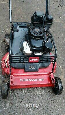 Toro 30 Turfmaster Self Propel Tondeuse Commerciale Kawasaki Fj180v Moteur
