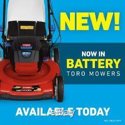 Toro Autopropulsés Tondeuse 22. Tablier Métallique Tirez Cord Traction Avant