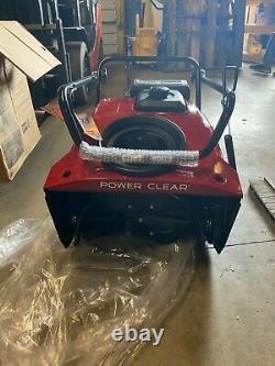 Toro Power Clear 721 R Gaz Automoteur 21 Souffleur À Neige