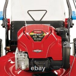 Toro Recycler 22. Smartstow High Wheel Variable Speed Walk Behind Gas Self