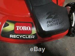 Toro Recycleur 190 CC Autopropulsés Tondeuse No Rust