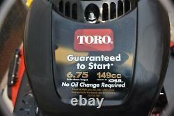 Toro Recycleur 2037 22'' Marche Derrière Le Gaz Autopropulsed Tondeuse De Pelouse Vitesse Variable