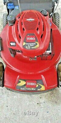 Toro Recycleur 22 Personal Pace Recycleur Automotrice 6,75 190cc Tondeuse