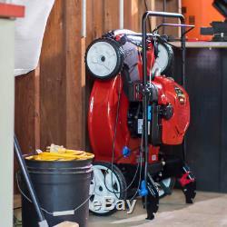 Toro Recycleur 22. Smartstow Haute Roue À Vitesse Variable Walk Behind Tondeuse À Essence