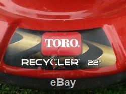 Toro Recycleur Gas Autopropulsés Tondeuse 22 Briggs À Vitesse Variable Stratton