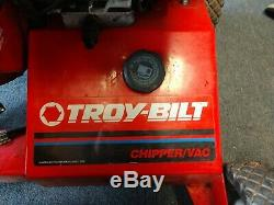 Troy Bilt Modèle # 47287 8 CV Démarreur Électrique Automotrice Chipper Vac