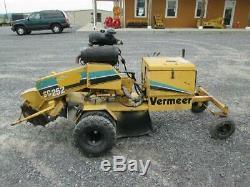 Vermeer Sc252 Stump Grinder Gaz Autopropulsés