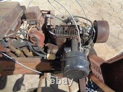 Vintage 1965 Wheel Horse Tracteur De Jardin 605