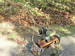 Vintage Eclipse Parkhound Modèle 1214 Automoteur Rotary/reel Tondeuse Inv14604