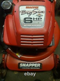 Vintage Hi Vac Snapper Tondeuse Autopropulsée Pick Up Seulement