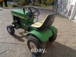 Vintage John Deere 70 Tondeuse Tracteur