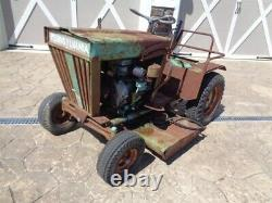 Vintage Pennsylvania Panzer Meteor Garden 1107 Tracteur. Runs Et Lecteurs